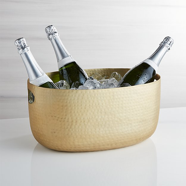 Small Gold Bash Beverage Tub - Image 1 of 6