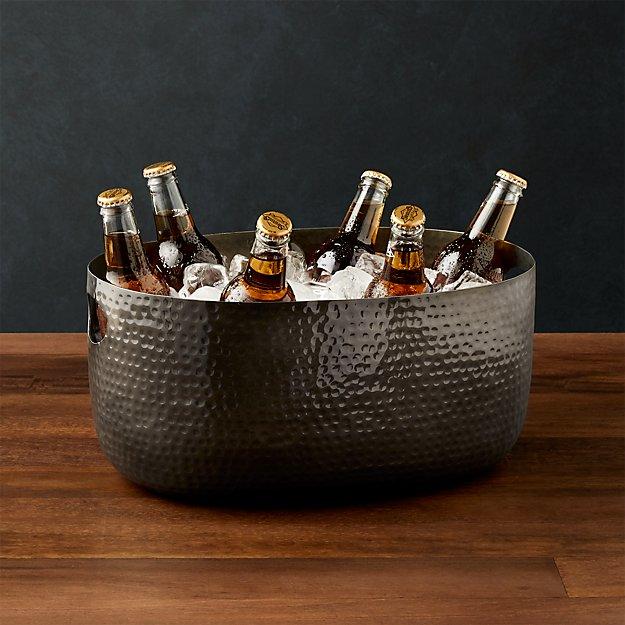 Small Graphite Bash Beverage Tub