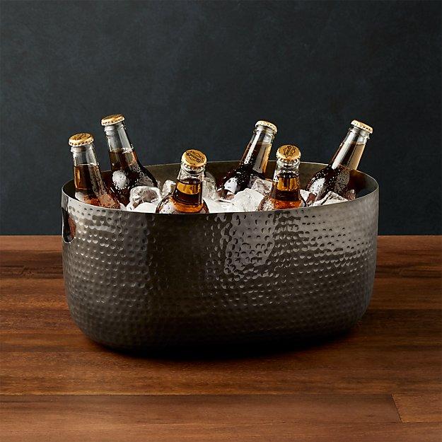 Small Graphite Bash Beverage Tub - Image 1 of 7