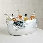Small Silver Bash Beverage Tub
