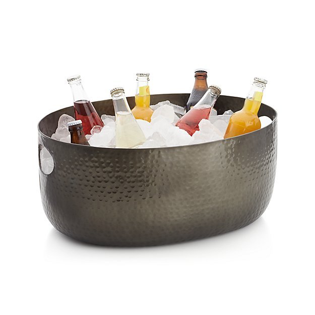 pail popup party drinkstuff tub steel drink beer bar galvanised oval bucket drinks beverage from product