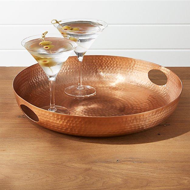 Bash Copper Tray