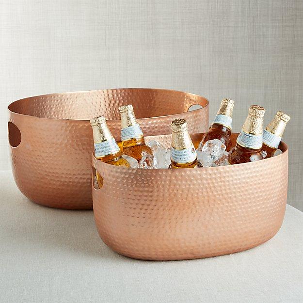 Bash Copper Beverage Tub - Image 1 of 5