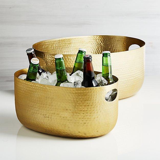 Bash Gold Beverage Tub - Image 1 of 6