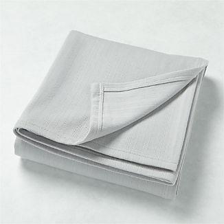 Basic Grey Bed Blanket