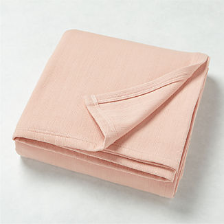 Basic Pink Bed Blanket