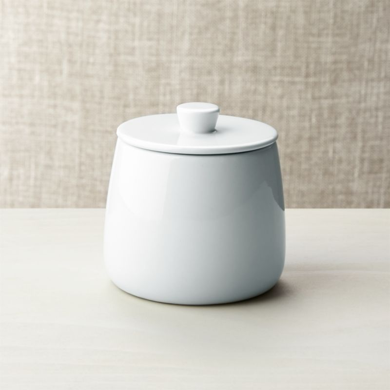 Basic White Sugar Bowl Reviews Crate And Barrel