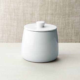 Basic White Sugar Bowl