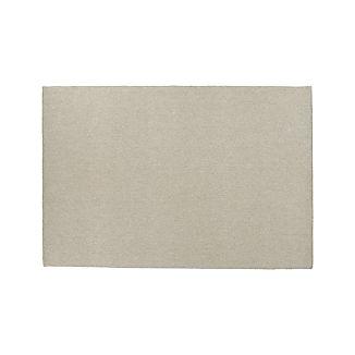 Basket Silver Wool-Blend 5'x8' Rug