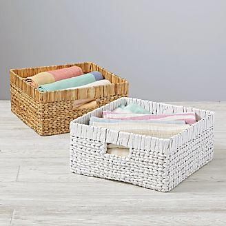 Wicker Large Changer Basket