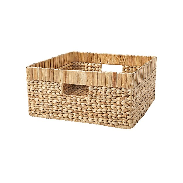 Natural Wicker Large Changing Table Basket - Image 1 of 5