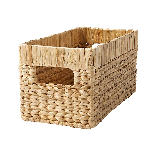 Natural Wicker Small Changing Table Basket - Image 1 of 5