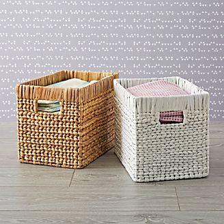 Wicker Midway Basket