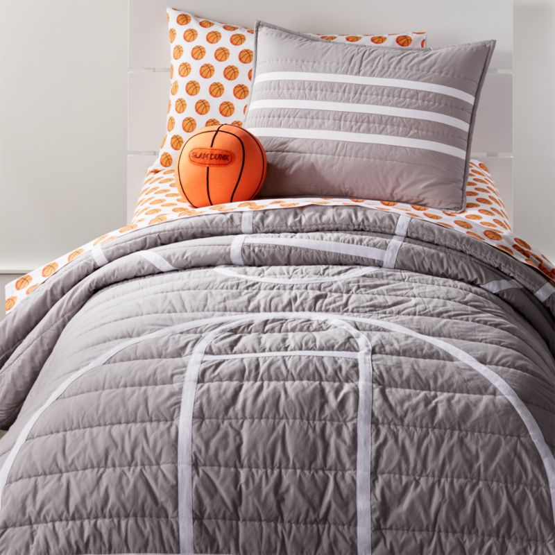 Basketball Bedding Set Crate And Barrel