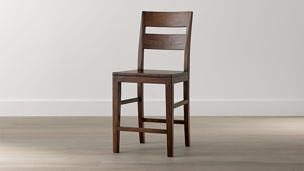 Basque Honey Counter Stool