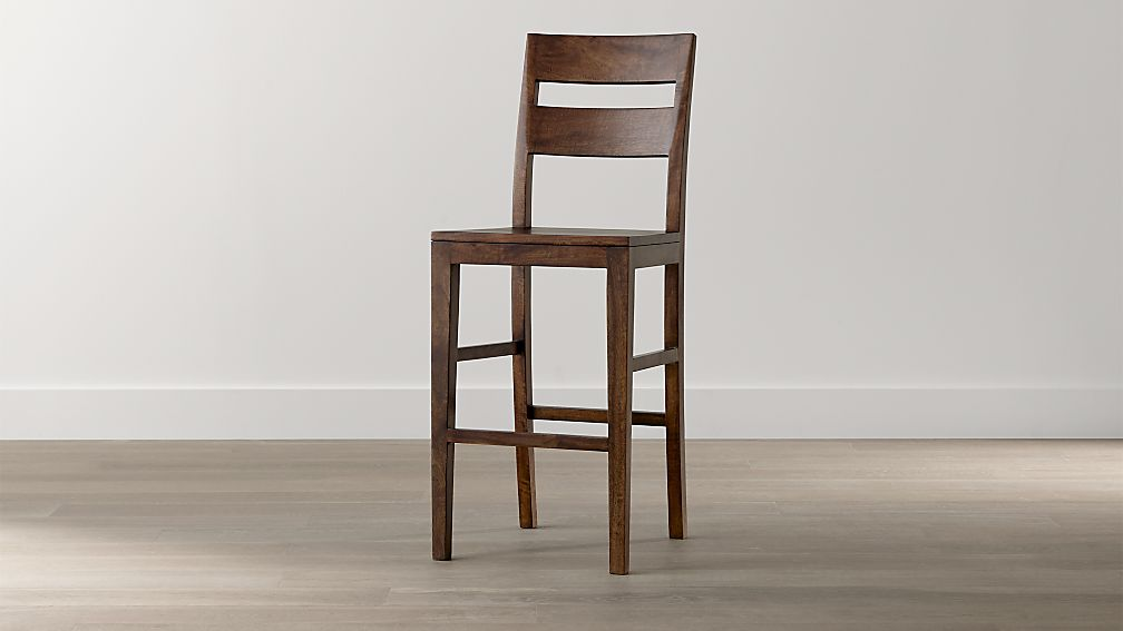 Basque Honey Bar Stool Crate And Barrel