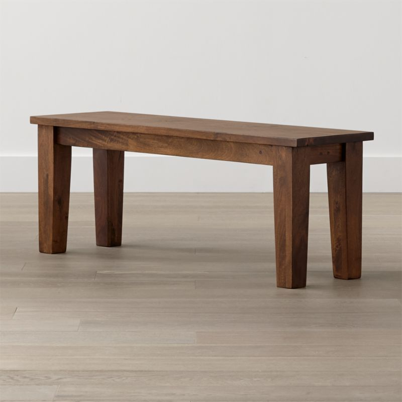 Mango Wood Table  Crate and Barrel