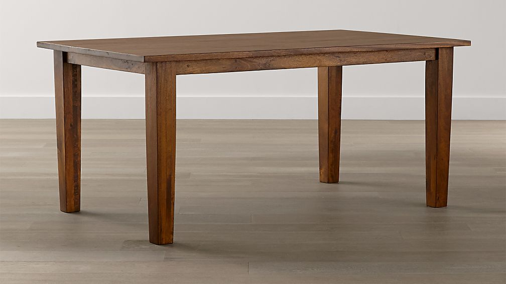 Basque Honey 65 Dining Table Reviews Crate And Barrel