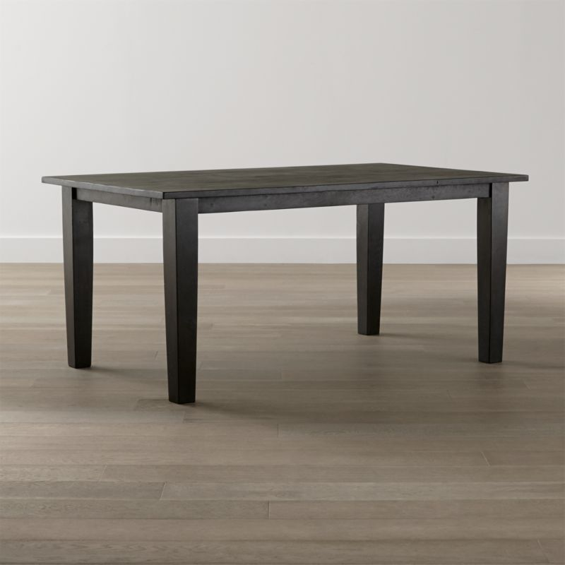 Basque Java 65 Dining Table Reviews Crate and Barrel