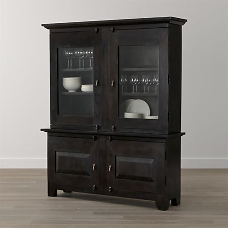 Basque Java Buffet with Hutch Top