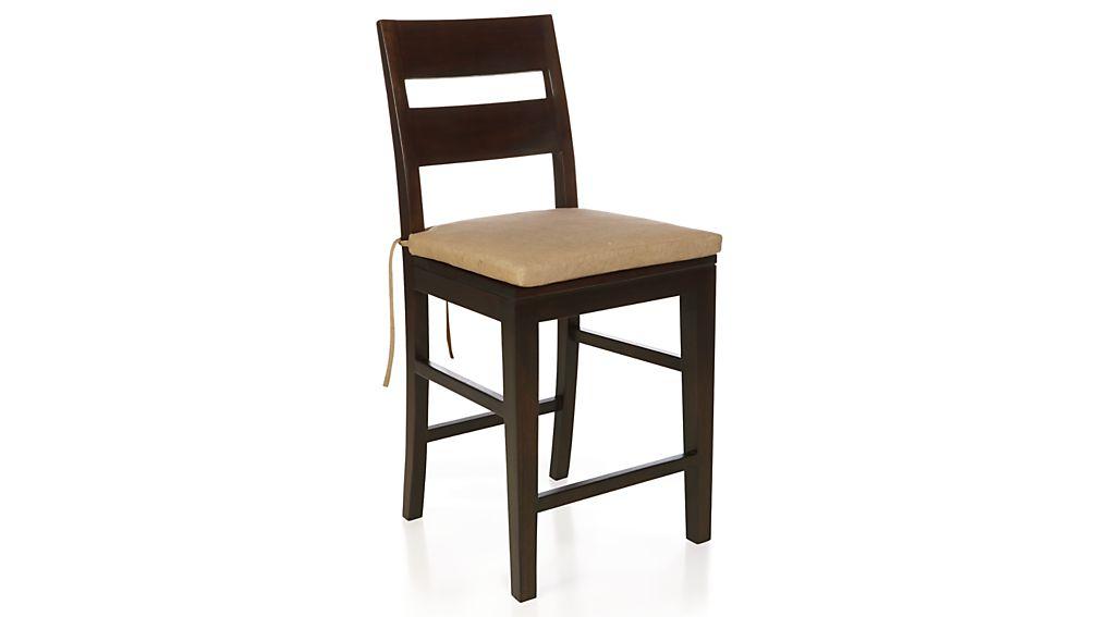 basque camel stool cushion