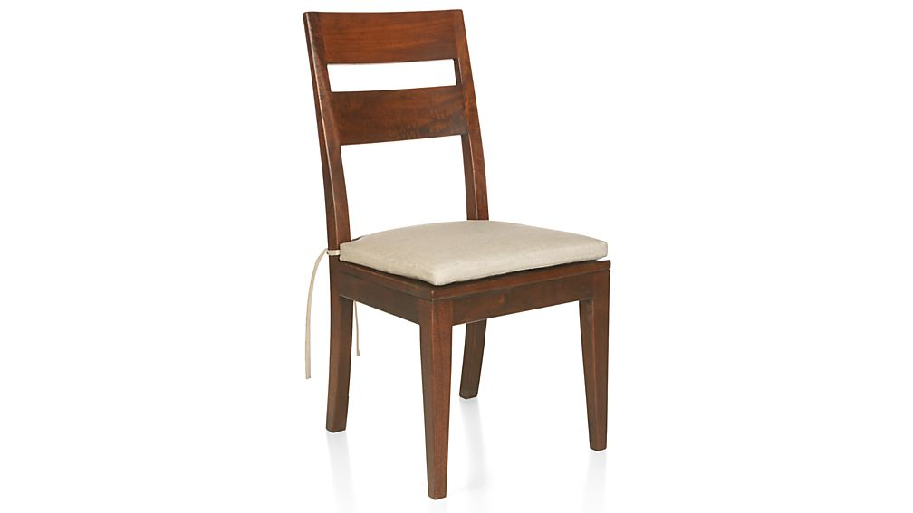 Basque Honey Wood Dining Chair