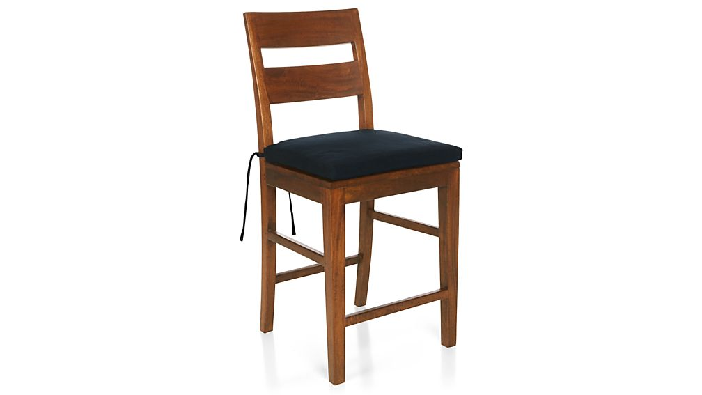 Basque Navy Chair–Bar Stool Cushion