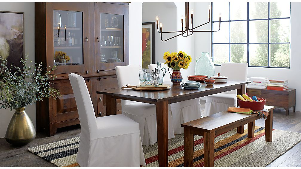 "Basque Honey 82"" Dining Table"
