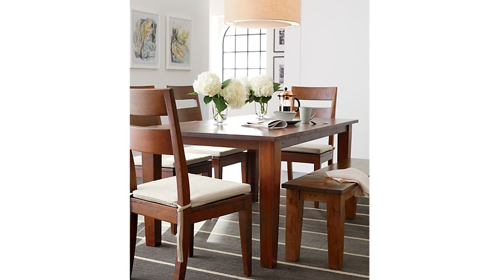 Basque Honey 82quot Dining Table Crate and Barrel : sway i print from www.crateandbarrel.com size 1008 x 567 jpeg 50kB