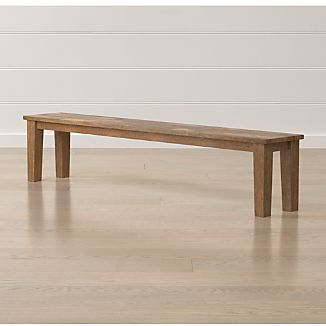 "Basque Grey Wash 84"" Bench"