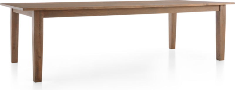 "Basque Grey Wash 104"" Dining Table"