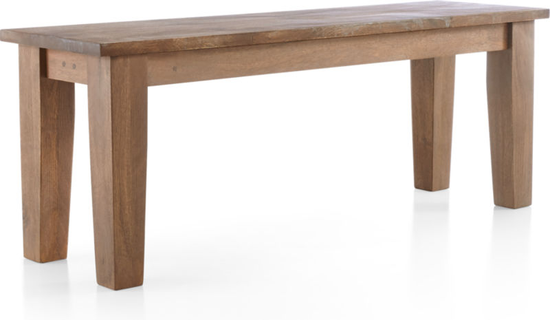 "Basque Grey Wash 48"" Bench"