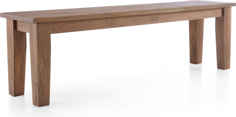 "Basque Grey Wash 62"" Bench"