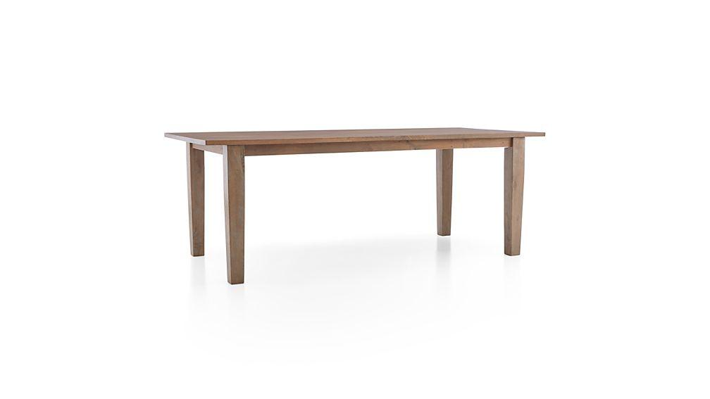 "Basque Grey Wash 82"" Dining Table"
