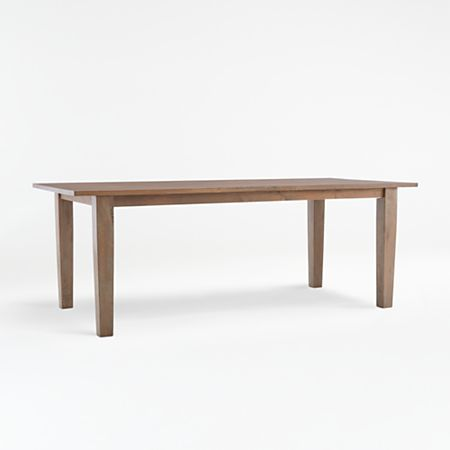 Basque Grey Wash Dining Tables Crate