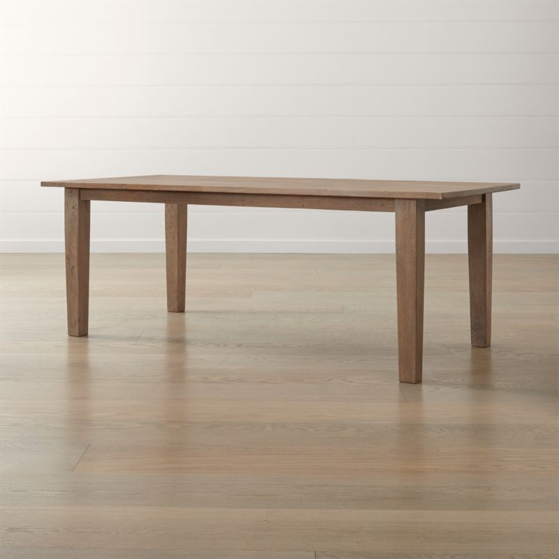 Basque Grey Wash Dining Tables. Dining Room   Kitchen Tables to Gather Around   Crate and Barrel