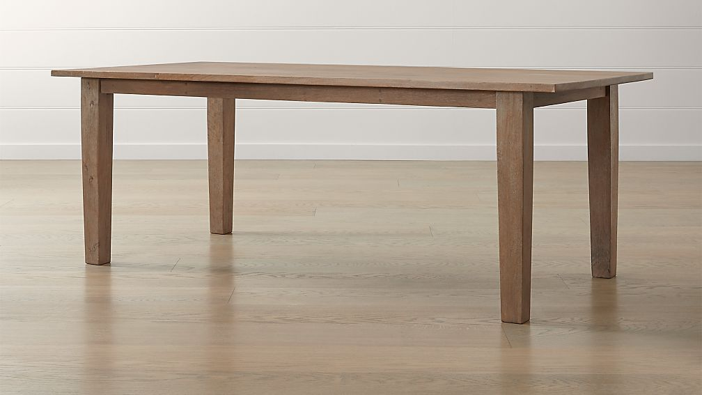 Basque Grey Wash Dining Tables - Image 1 of 9