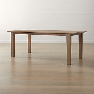 "Basque Grey Wash 82"" Dining Table"