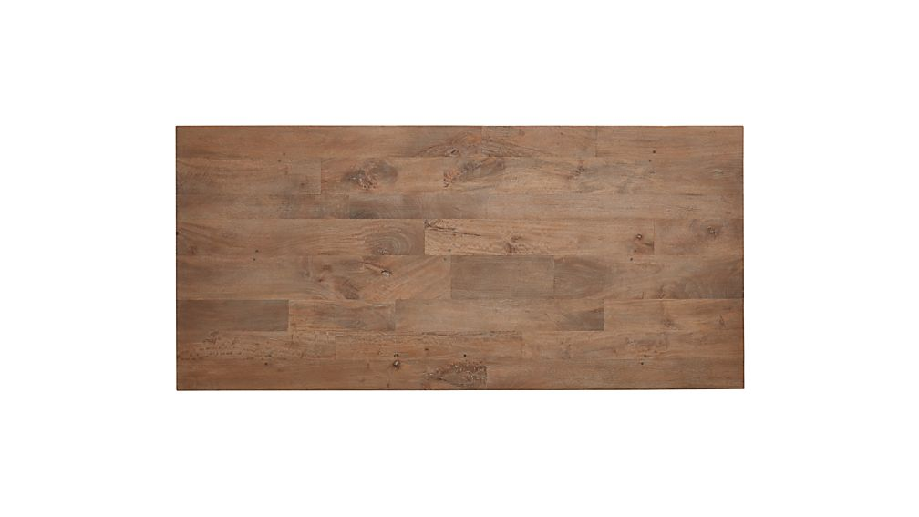 "Basque Grey Wash 65"" Dining Table"