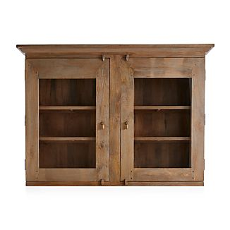 Basque Grey Wash Hutch Top