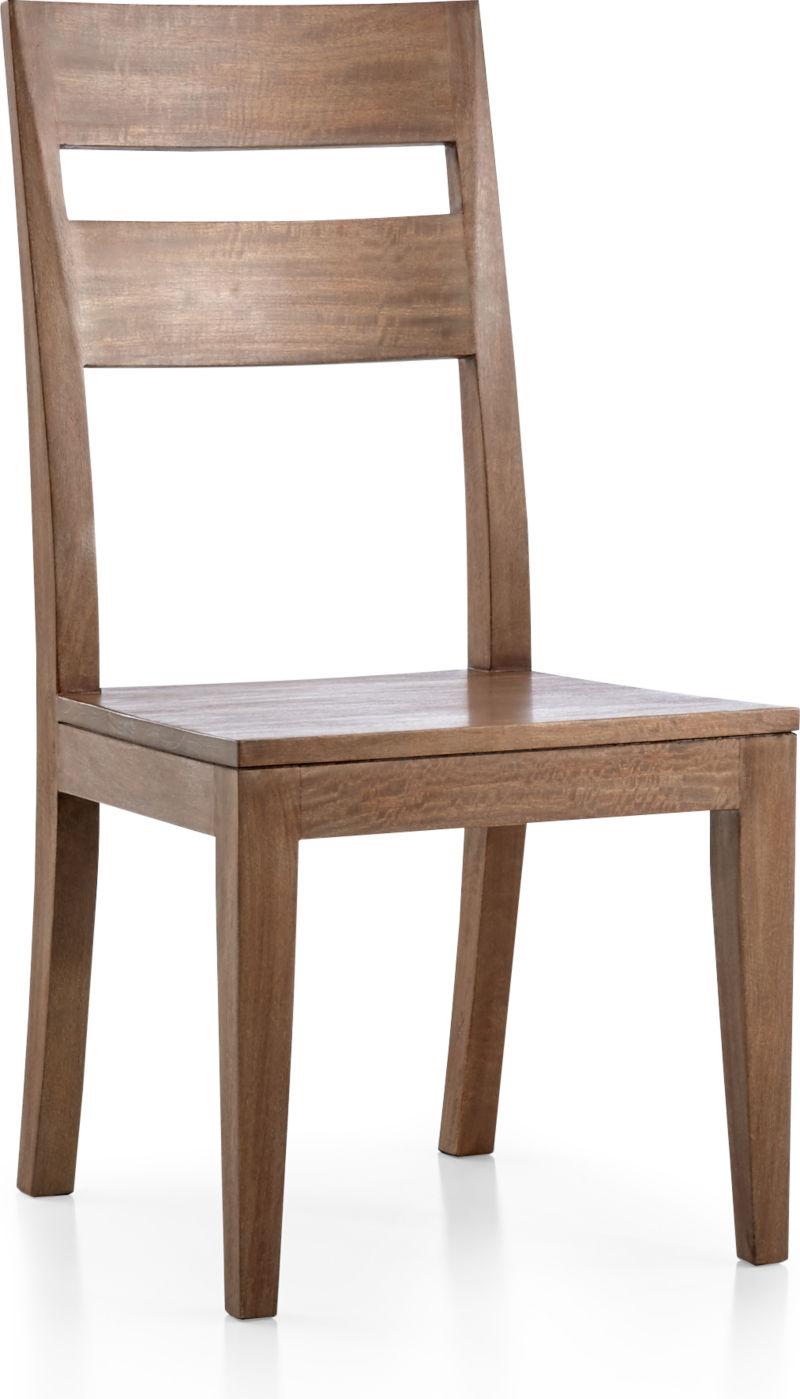 Basque Grey Wash Side Chair