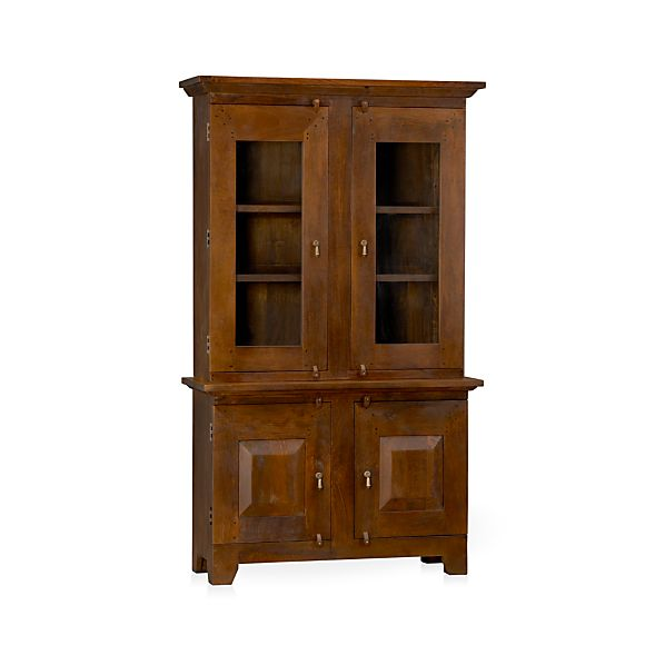 Basque Honey Small Buffet with Hutch Top