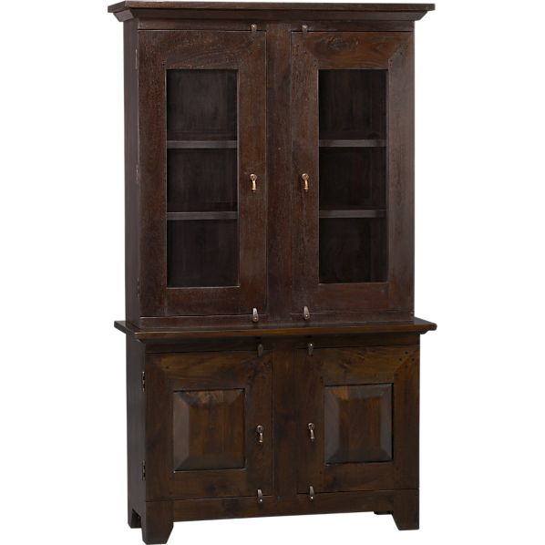 Basque Java Small Buffet with Hutch Top
