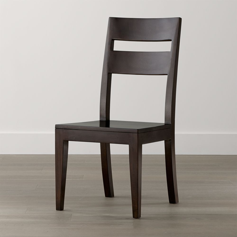 Basque Java Wood Dining Chair - Crate and Barrel