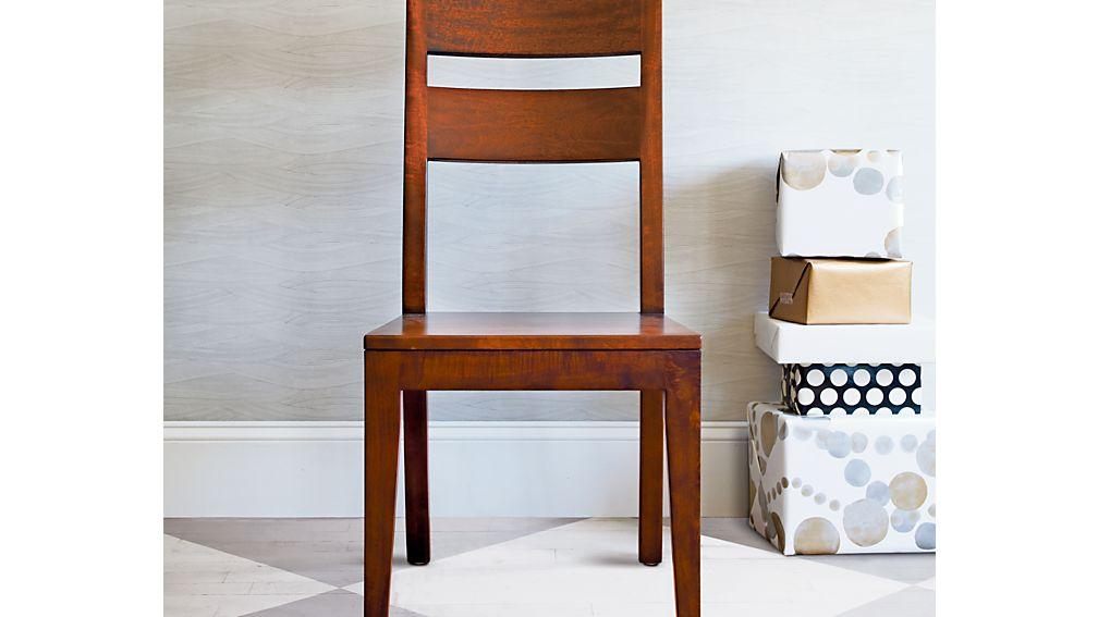Basque Berry Stripe Chair Cushion