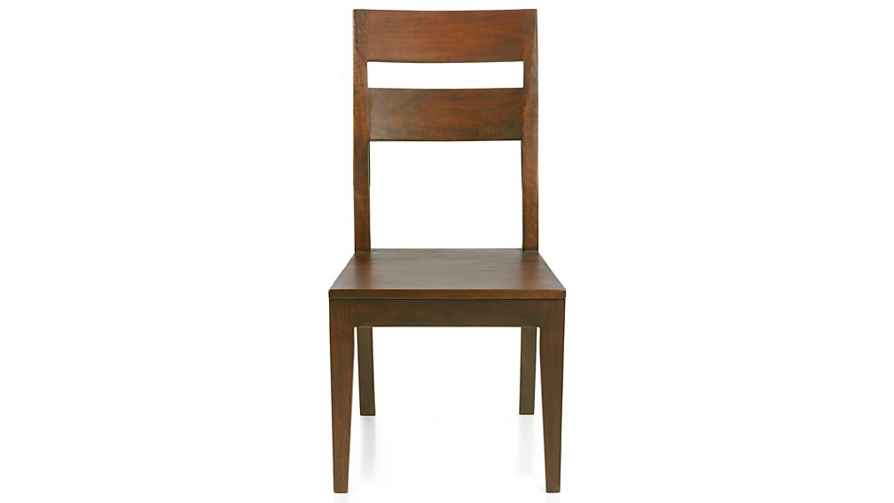 sc 1 st  Crate and Barrel & Basque Honey Wood Dining Chair + Reviews | Crate and Barrel