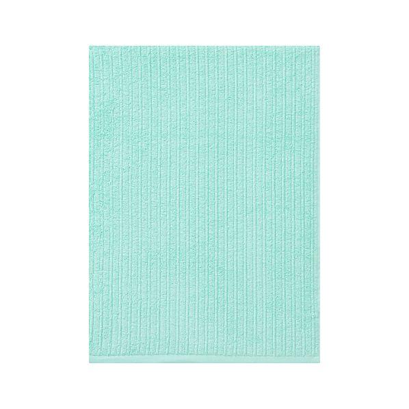 Ribbed Aqua Bath Sheet