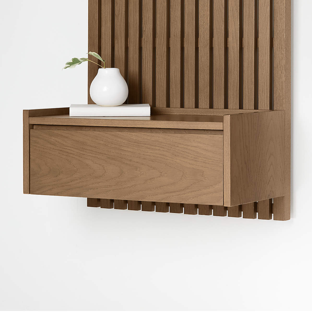 Batten Floating Nightstand Reviews Crate And Barrel Canada
