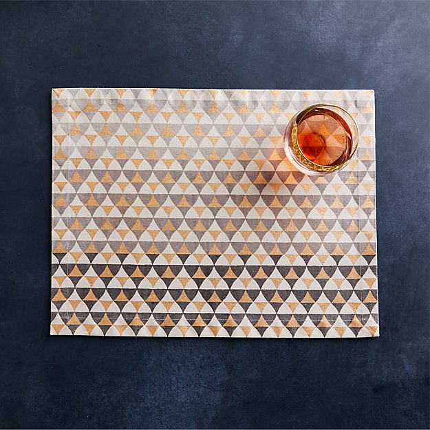 Bauble Metallic Placemat - Image 1 of 3