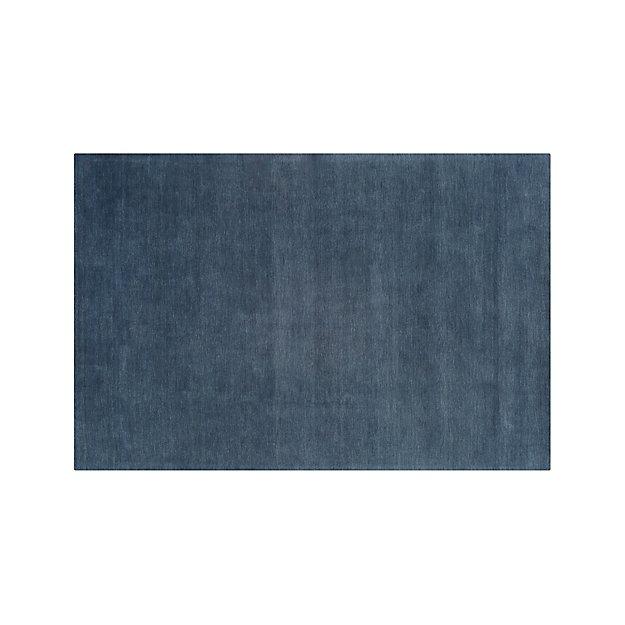 Baxter Blue Wool 8'x10' Rug